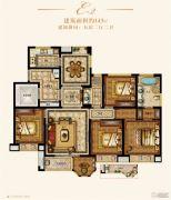 金城豪庭5室2厅2卫143平方米户型图
