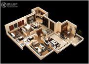 恒大御府4室2厅2卫175平方米户型图