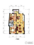 辽阳凯旋门广场2室2厅1卫83平方米户型图