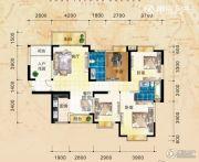 三祺长岛花园3室2厅2卫134平方米户型图