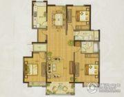 申亚乐庭3室2厅2卫143平方米户型图