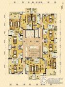 保利锦里1室1厅1卫34--52平方米户型图