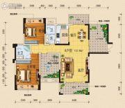 柏林国际4室2厅2卫124平方米户型图
