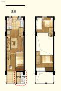 茂新三味雅筑1室1厅1卫0平方米户型图
