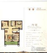 东城尚品3室2厅1卫106平方米户型图