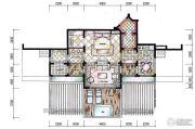 东和福湾1室1厅1卫85平方米户型图