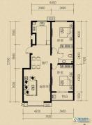燕赵国际2室2厅1卫96平方米户型图
