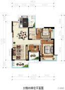 凯茵又一城(商铺)3室2厅1卫98平方米户型图