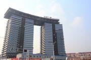 新城总部大厦外景图