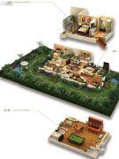 龙湖拉特芳斯4室3厅3卫202平方米户型图