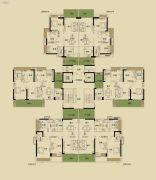 开平・东汇城3室2厅2卫96--122平方米户型图