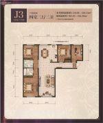 善上居4室2厅2卫0平方米户型图