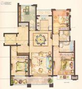 中梁永宁首府4室2厅2卫131平方米户型图