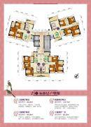 金帝世纪城86--124平方米户型图