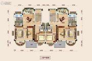 恩施碧桂园二期5室2厅1卫260平方米户型图