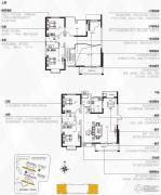 银隆开元名郡4室3厅2卫230平方米户型图