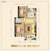 龙泉绿苑2室1厅1卫0平方米户型图
