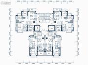 东莞恒大滨江左岸2室2厅1卫76平方米户型图