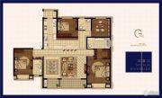 绿地华侨城海珀滨江4室2厅3卫205平方米户型图
