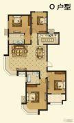 紫薇壹�4室2厅2卫0平方米户型图