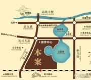 旺力城二期交通图
