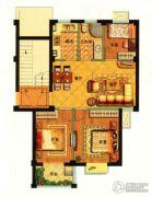 秀山菜市场3室2厅1卫75平方米户型图