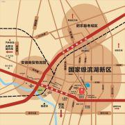 安建・锦绣花园交通图