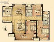 九龙仓时代上城国宾�o3室2厅2卫120平方米户型图