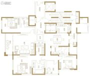 富田九鼎世家4室2厅2卫220平方米户型图