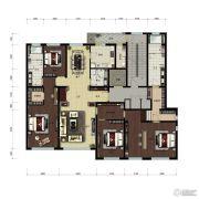 天润福熙大道4室0厅0卫306平方米户型图