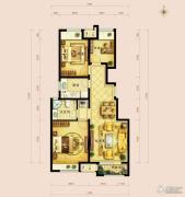 金地朗悦3室2厅1卫89--94平方米户型图