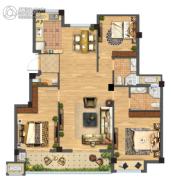 佳源都市3室2厅2卫0平方米户型图