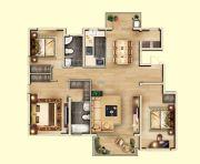 亚龙湾东湖3室2厅2卫153--154平方米户型图