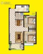 安泰・未来城2室2厅1卫85平方米户型图