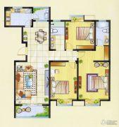 明瑞花园3室2厅2卫146平方米户型图