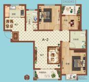 祝福红城3室1厅1卫115平方米户型图