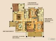 海天紫郡4室2厅2卫131平方米户型图