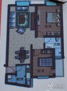 旭日嘉园2室2厅1卫0平方米户型图