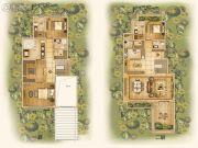 中国铁建西派澜岸3室2厅5卫245平方米户型图