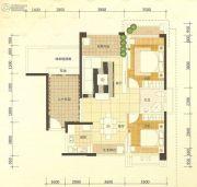 金城大厦2室2厅1卫60--130平方米户型图