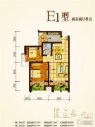 兴业新城2室2厅1卫87--94平方米户型图