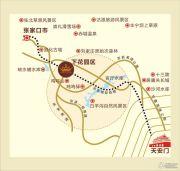 名爵・滨河花园交通图