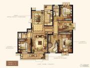 万达华府・大公馆4室2厅3卫212平方米户型图