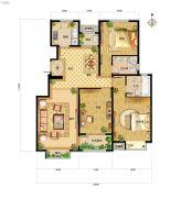 中国铁建・北京山语城0室0厅0卫125平方米户型图