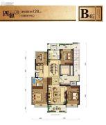 融信江南学府4室2厅2卫0平方米户型图