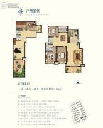 鼎城3室2厅2卫186平方米户型图