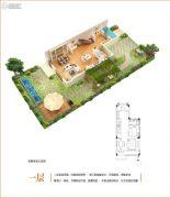 中粮本源(鲲域别墅)151平方米户型图