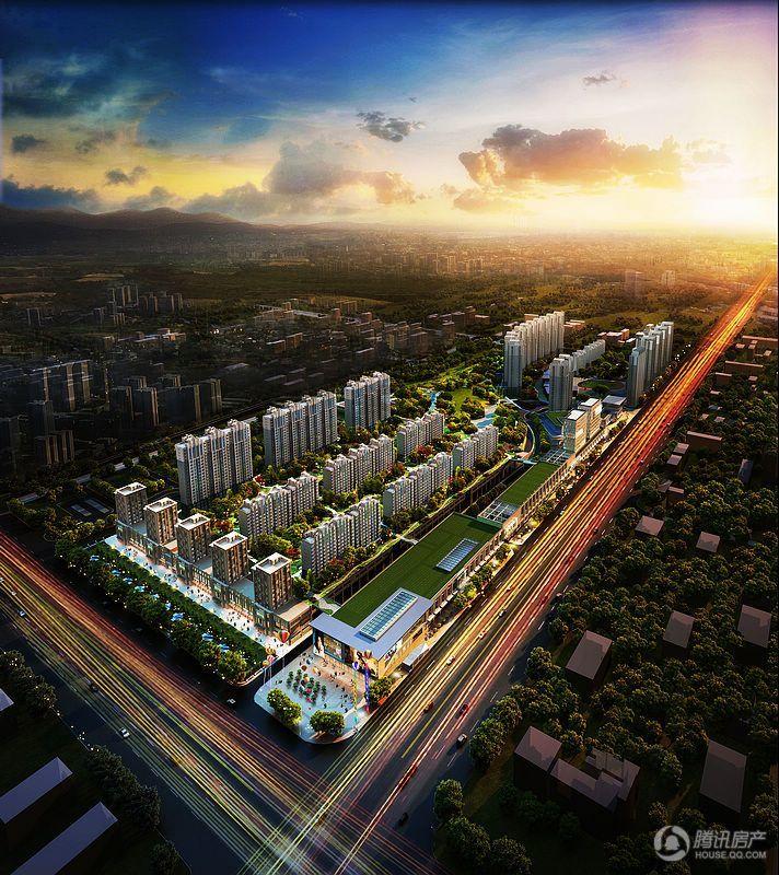 京投发展·公园悦府房源在售,均价58500元/平