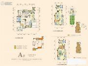 奥园城市天地3室2厅2卫111平方米户型图