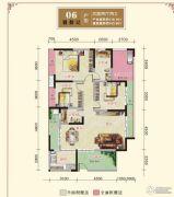 汉江新城4室2厅2卫0平方米户型图